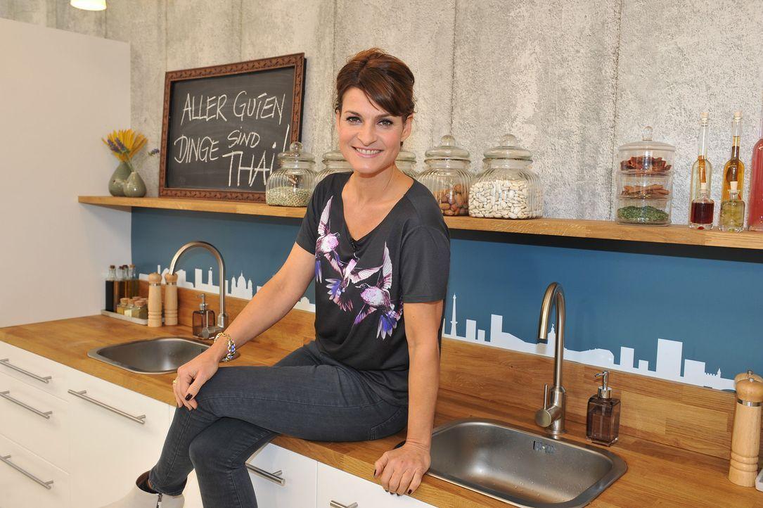 """Die Koschshow """"Küchenkönigin"""" wird unter anderem von Marlene Lufen moderiert. - Bildquelle: Andre Kowalski sixx"""