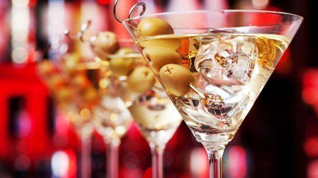 Ein gepflegtes Dreieck nach Vorbild des Martini-Glases kann sich sehen lassen.