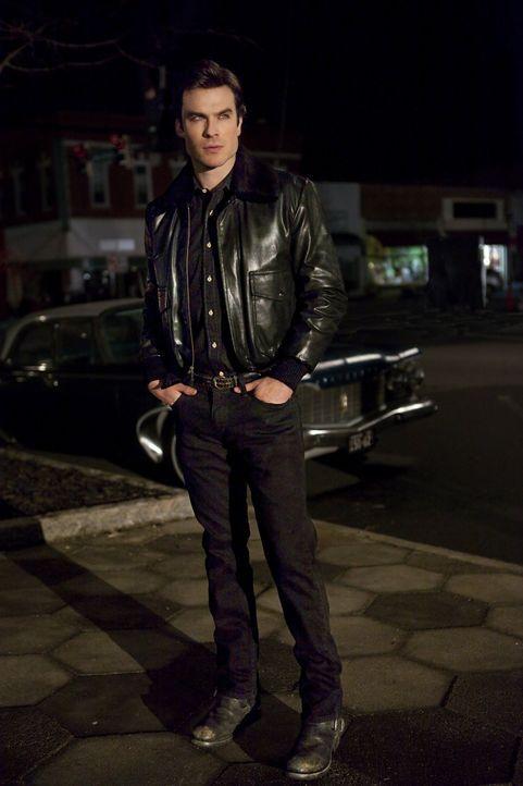 Für Damon (Ian Somerhalder) würde eine Welt zusammenbrechen, wenn er erfahren würde, was mit Enzo passiert ist ... - Bildquelle: Warner Brothers