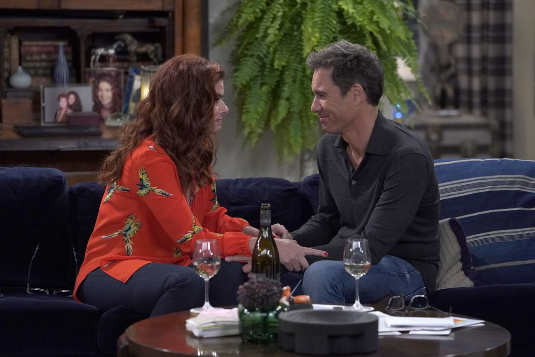 Grace (Debra Messing, l.); Will (Eric McCormack, r.) - Bildquelle: Chris Haston 2018 Universal Television LLC. ALL RIGHTS RESERVED./Chris Haston / Chris Haston