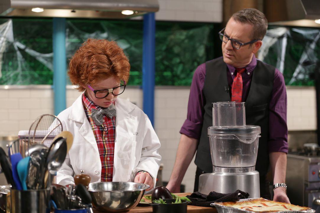 Lammherz und Geister-Toast - Bildquelle: Susan Magnano 2016,Television Food Network, G.P. All Rights Reserved/Susan Magnano
