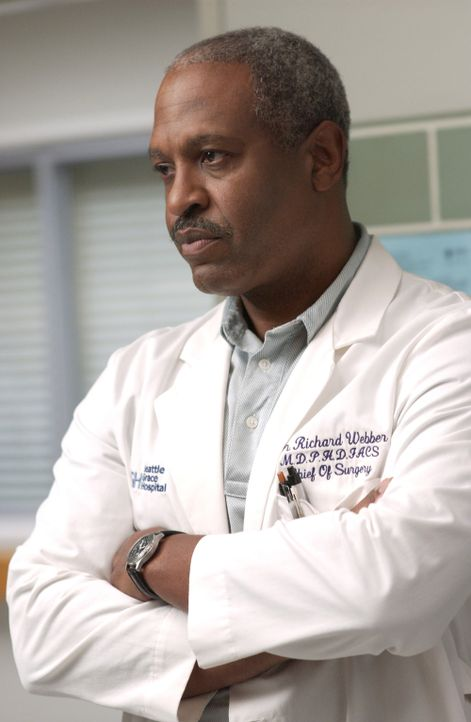 Dr. Richard Webber (James Pickens, Jr.) hat seine Schützlinge im Griff ... - Bildquelle: Touchstone Television