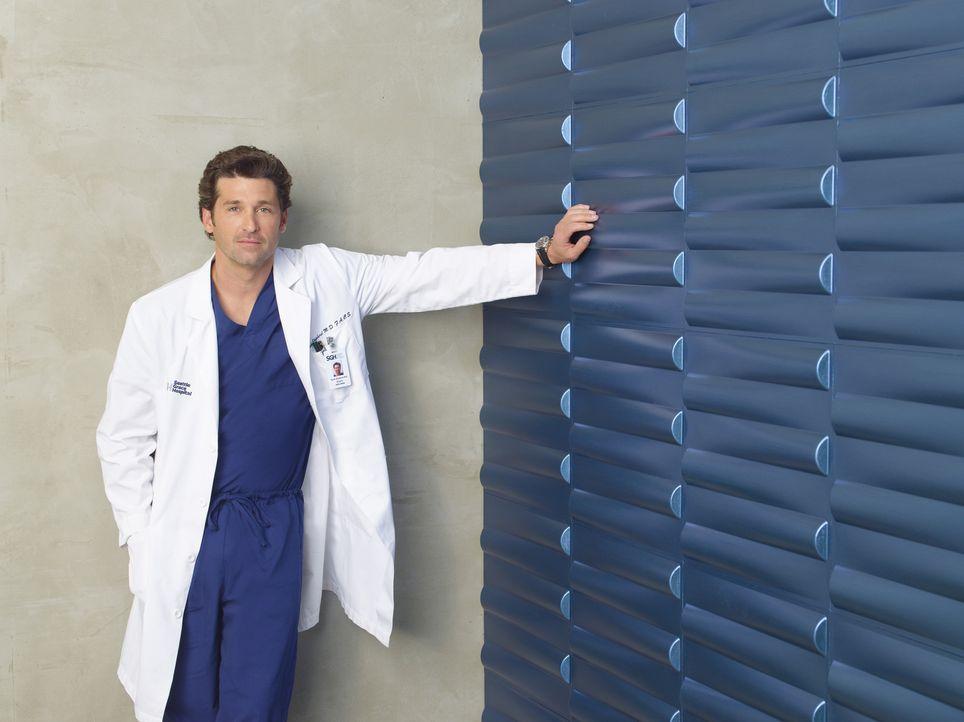 (6. Staffel) - Wird ständig mit neuen Problemen konfrontiert: Dr. Derek Shepherd (Patrick Dempsey) ... - Bildquelle: Touchstone Television