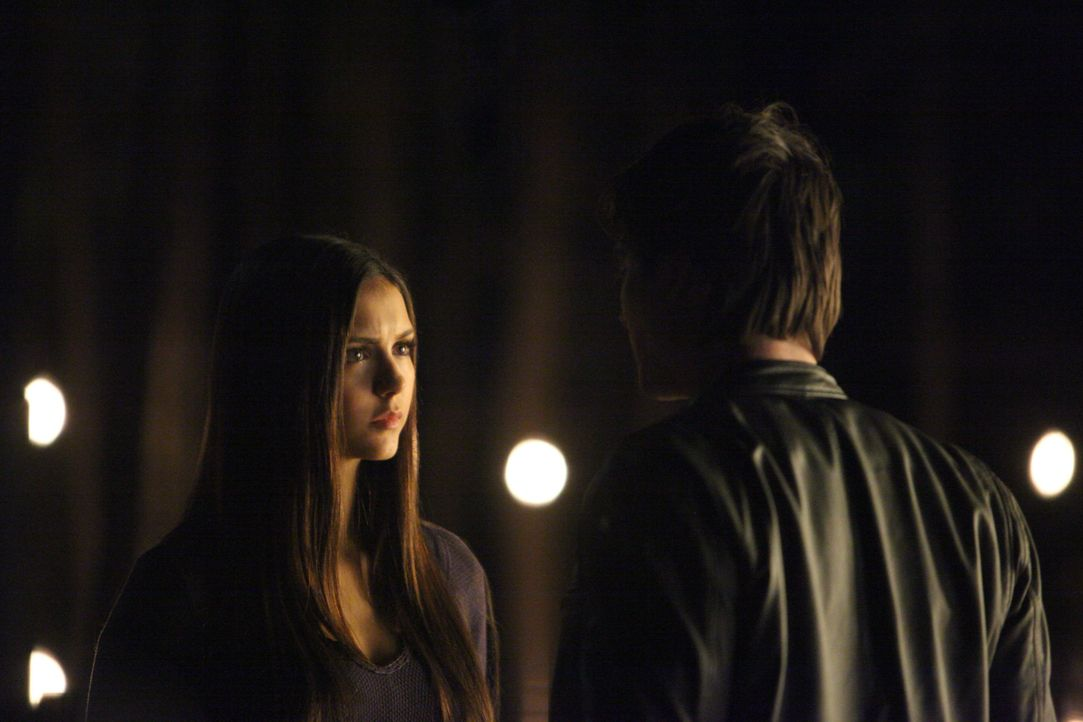 Damon Salvatore und Elena Gilbert - Bildquelle: Warner Bros Entertainment Inc.
