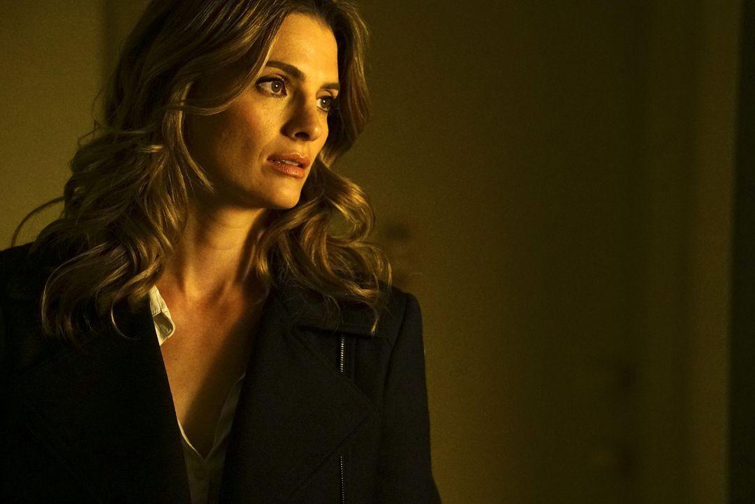 Macht sich Sorgen um ihren Mann, der in ernster Gefahr scheint: Kate (Stana Katic) ... - Bildquelle: Richard Cartwright ABC Studios / Richard Cartwright