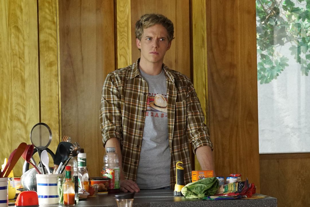 Gefangen im Haus zeigt Gretchen ihr wahres Ich und sogar Jimmy (Chris Geere) ist geschockt, wie gemein sie sein kann ... - Bildquelle: 2015 Fox and its related entities.  All rights reserved.