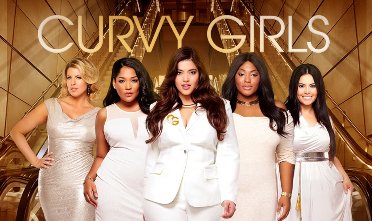 (2. Staffel) - Curvy Girls - Models XXL - Artwork - Bildquelle: MMXIII SiTv, Inc. All rights reserved.