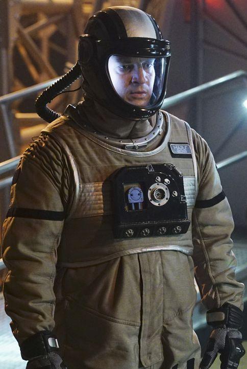 Eigentlich geht für Castle (Nathan Fillion) mit den Ermittlungen in der Marssimulation ein Traum in Erfüllung. Der Mord hingegen ist für ihn nicht a... - Bildquelle: Richard Cartwright ABC Studios / Richard Cartwright