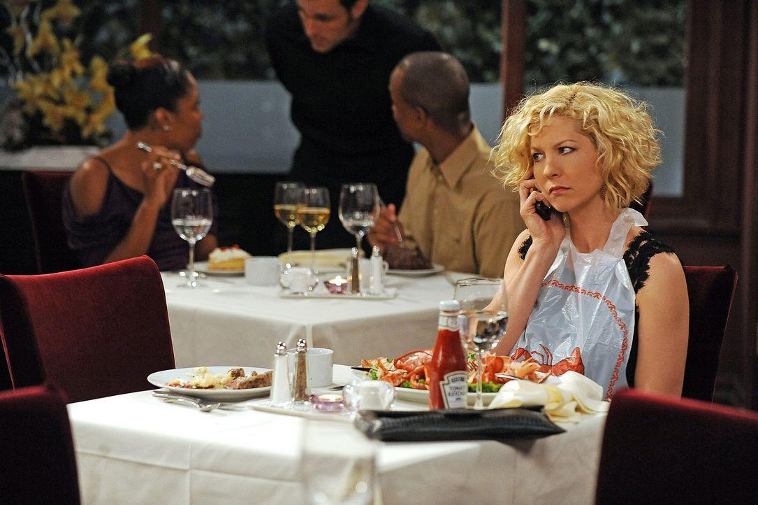 Und schon wieder wird Billie (Jenna Elfman) versetzt ... - Bildquelle: 2009 CBS Broadcasting Inc. All Rights Reserved