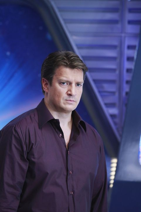 Richard Castle (Nathan Fillion) und Beckett untersuchen einen Mord, der auf einer Science-Fiction-Convention stattgefunden hat. Castle kann nicht ve... - Bildquelle: 2012 American Broadcasting Companies, Inc. All rights reserved.