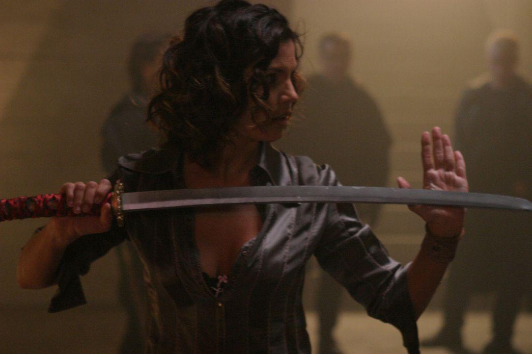 Endlich wieder aus dem Koma erwacht: Cordelia (Charisma Carpenter) - Bildquelle: The WB Television Network