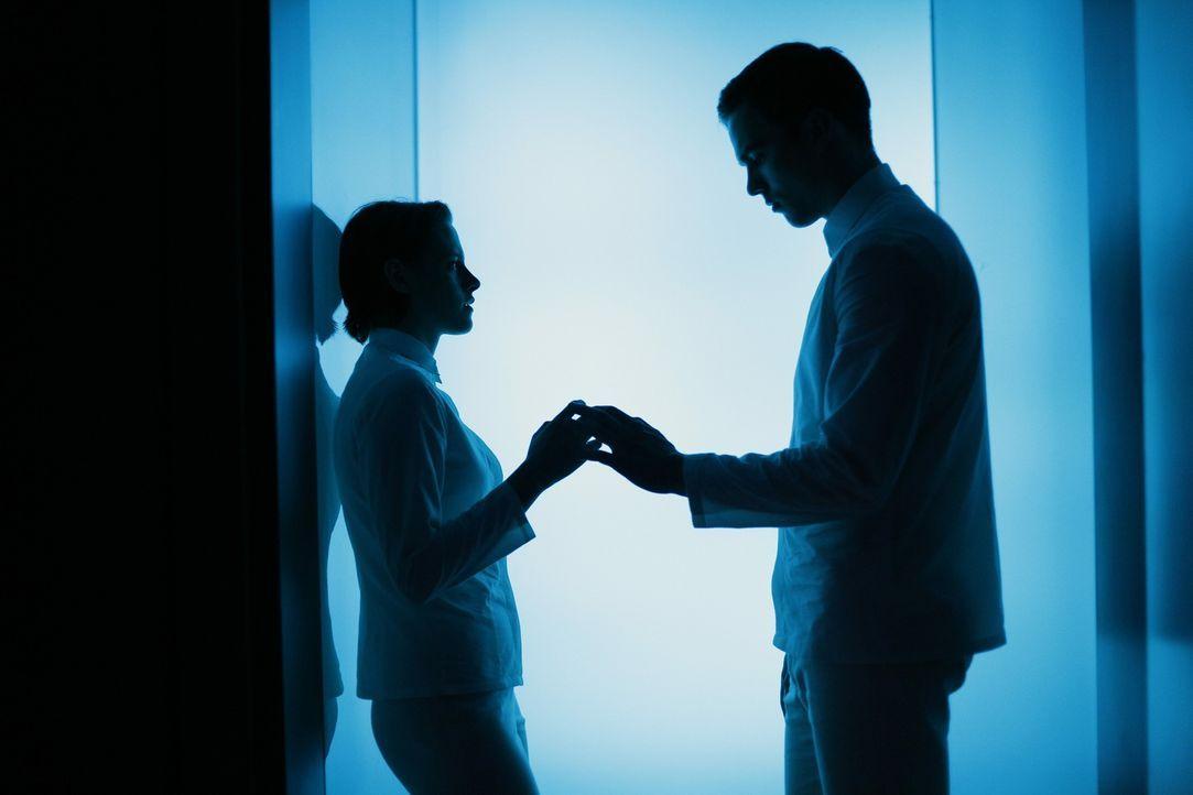 Müssen ihre Liebe unterdrücken: Nia (Kristen Stewart, l.) und Silas (Nicholas Hoult, r.) ... - Bildquelle: Koch Media GmbH