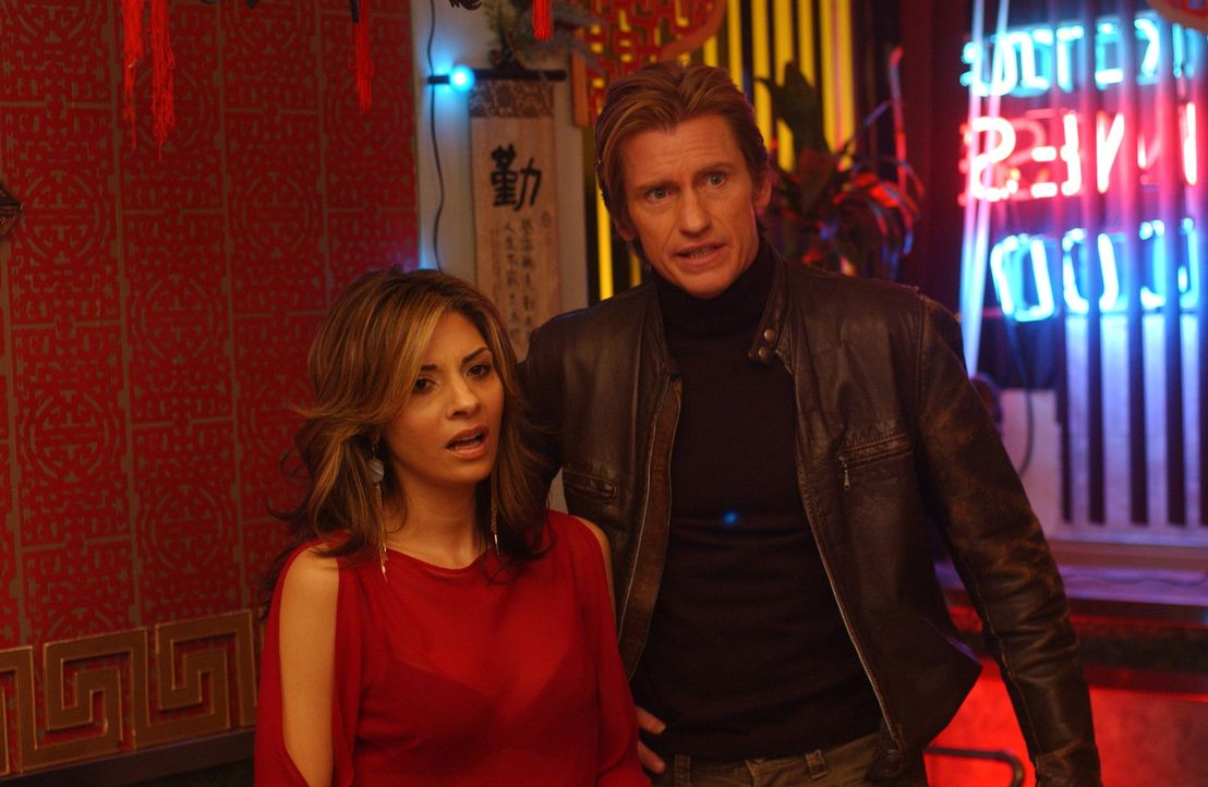 Auch Sheila (Callie Thorne, l.) kann Tommys (Denis Leary, r.) Wut nicht länger zügeln ... - Bildquelle: SONY 2006 CPT Holdings, Inc. All Rights Reserved.
