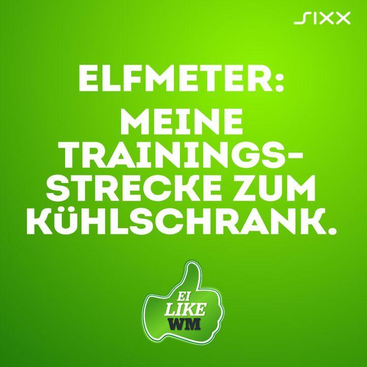 WM 2014: Funnyposts Elfmeter - Bildquelle: sixx