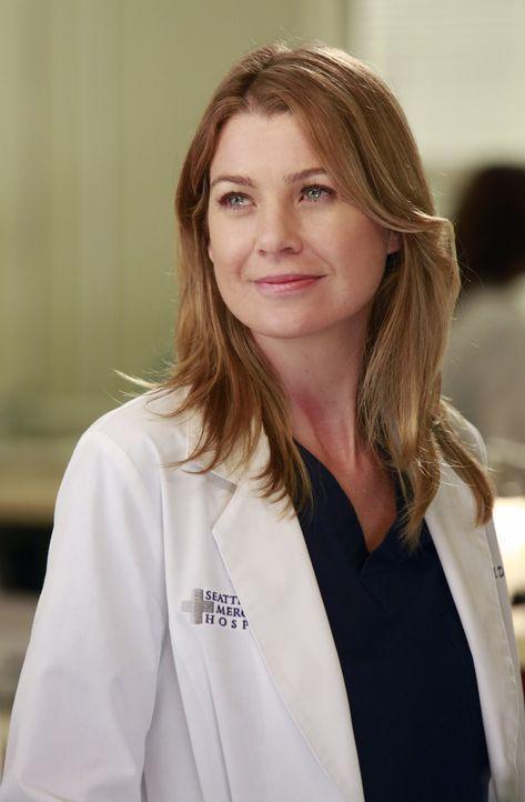 Hat besondere Aufgaben für Heather: Meredith (Ellen Pompeo) ... - Bildquelle: ABC Studios