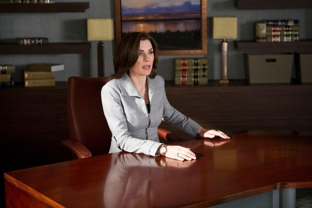 Als Alicias (Julianna Margulies) Pläne ans Tageslicht kommen, führt das zu einer Massenkündigung und einem Streit um die Klienten ... - Bildquelle: David M. Russell 2013 CBS Broadcasting Inc. All Rights Reserved.