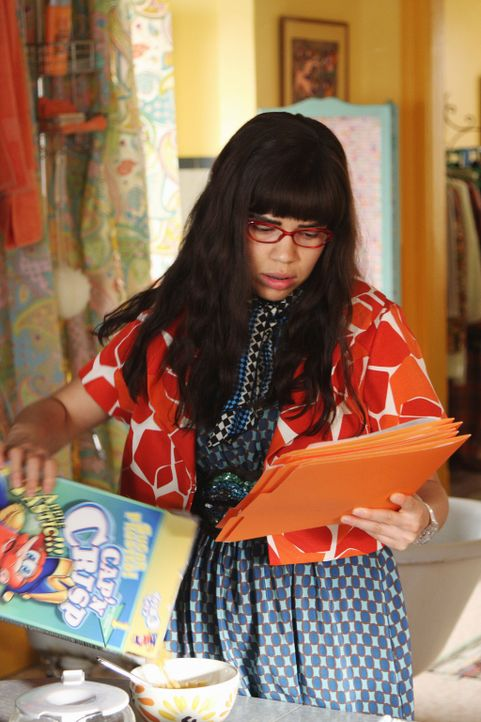 Erlebt eine unschöne Überraschung: Betty (America Ferrera, r.) ... - Bildquelle: 2008   ABC Studios