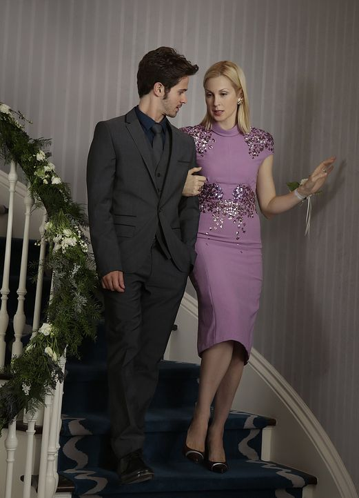Eric und Lily - Bildquelle: Warner Bros. Television