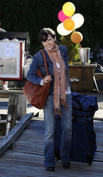 Abby (Elaine Cassidy) ist das erste Mal seit dem Tod ihrer Mutter wieder auf Harper's Island. Schon bald holen sie ihre schrecklichen Erinnerungen w... - Bildquelle: 2009 CBS Studios Inc. All Rights Reserved.