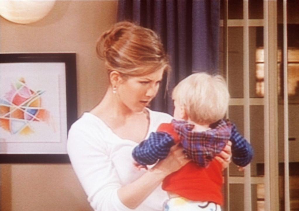 Rachel (Jennifer Aniston) liebt Kinder, doch wie man genau mit ihnen umgeht, ist ihr ein Rätsel. - Bildquelle: TM+  2000 WARNER BROS.