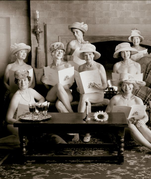 Ältere Damen, die Marmelade einkochen, sind nichts Besonderes. Frauen, die sich nackt für einen Kalender ablichten lassen ebenso wenig. Aber gestand... - Bildquelle: Jamie Midgley Buena Vista Pictures Distribution /   Touchstone Pictures. All Rights Reserved.