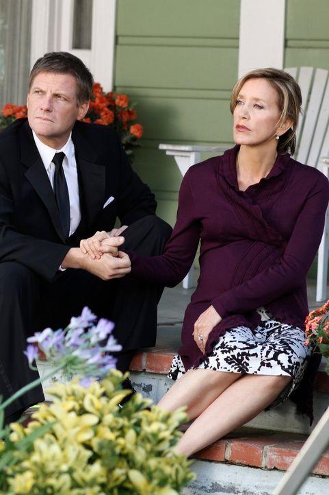 Fest entschlossen, die Heirat von Preston und Irina zu verhindern, deckt Lynette (Felicity Huffman, r.) endlich die wahren Absichten ihrer zukünftig... - Bildquelle: ABC Studios