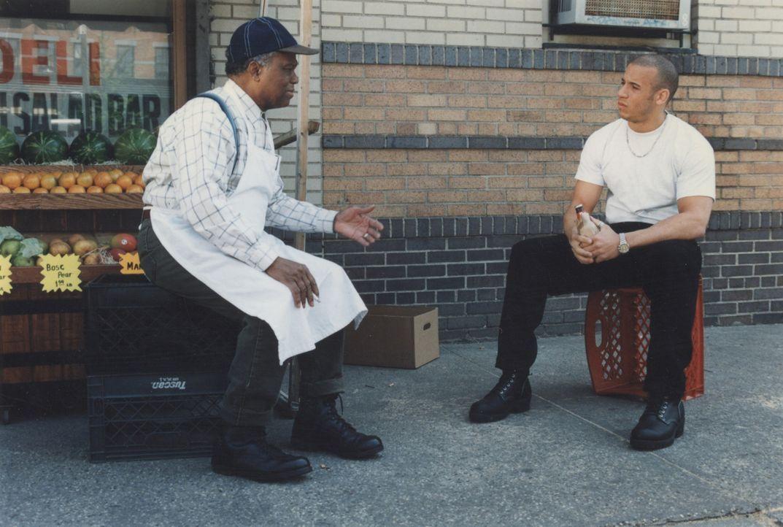 Muss feststellen, dass es nicht so einfach ist, sich zu ändern: der verliebte Rick (Vin Diesel, r.) ... - Bildquelle: Licensed by First Look Media  Inc.
