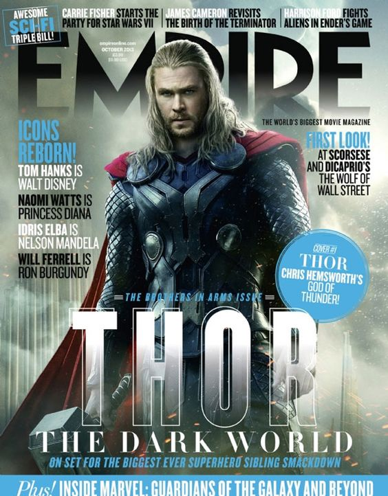 Chris Hemsworth auf dem Empire-Cover - Bildquelle: Marvel/Empire