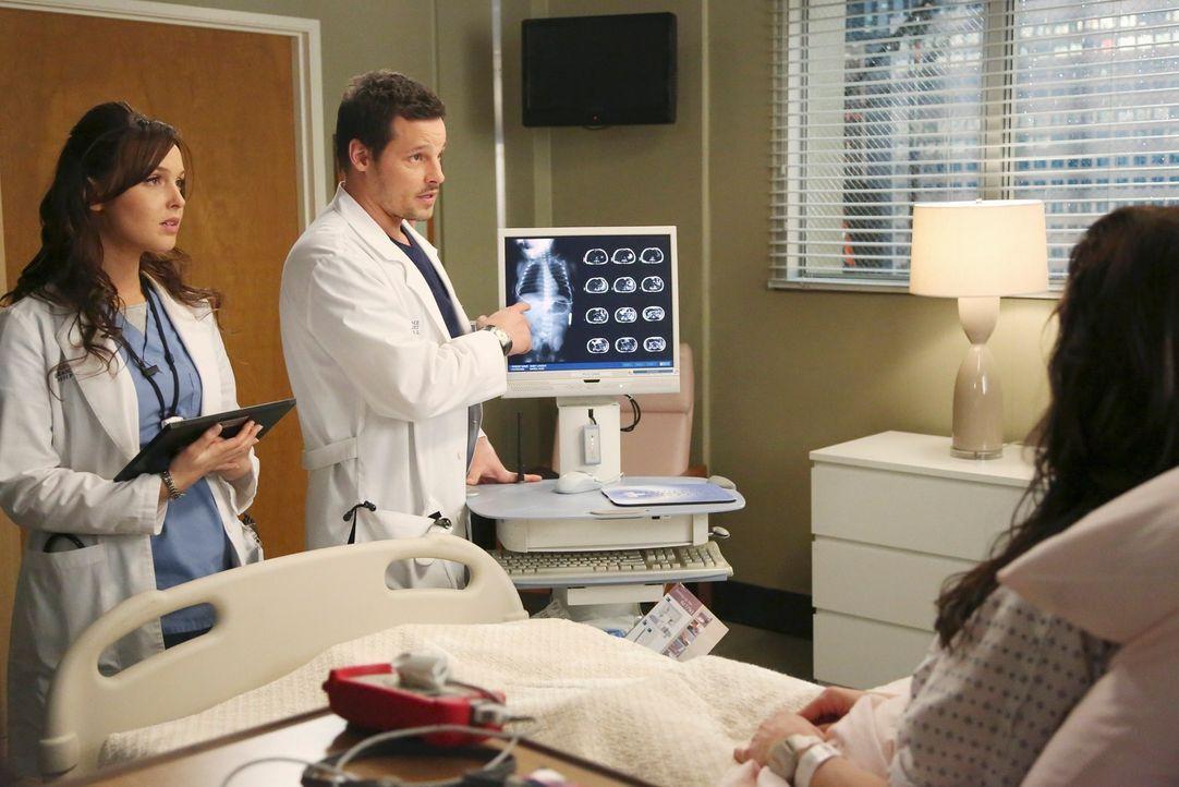 Dr. Alex Karev (Justin Chambers, r.) und Dr. Jo Wilson (Camilla Luddington, l.) kämpfen täglich für ihre Patienten um Leben und Tod. Diesmal geht es... - Bildquelle: ABC Studios