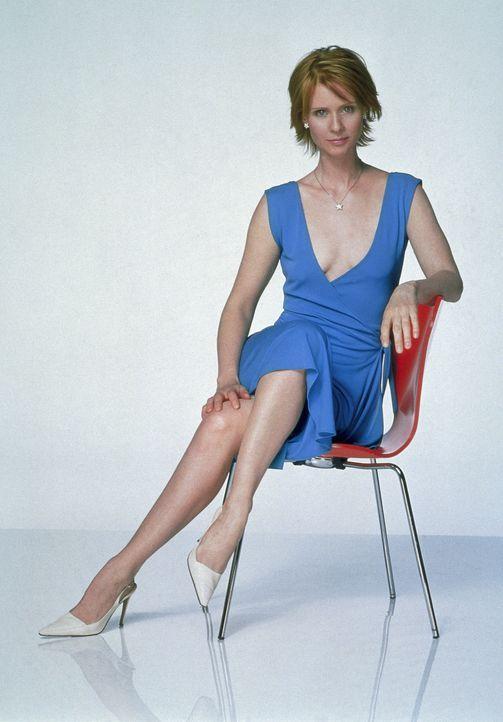 (4. Staffel) - Anwältin Miranda (Cynthia Nixon) hat schon so oft auf den Falschen gesetzt, dass sie Männer nur noch mit Zynismus ertragen kann. - Bildquelle: Paramount Pictures