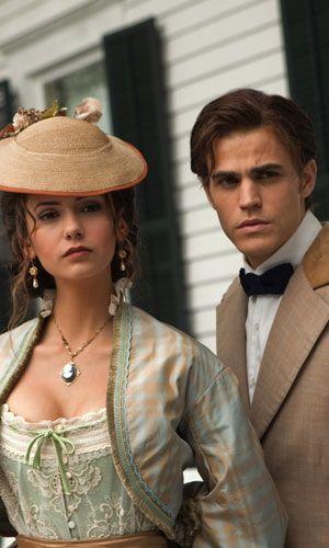 Katherine und Stefan waren schon ein schönes Paar - Bildquelle: Warner Bros. Entertainment Inc.
