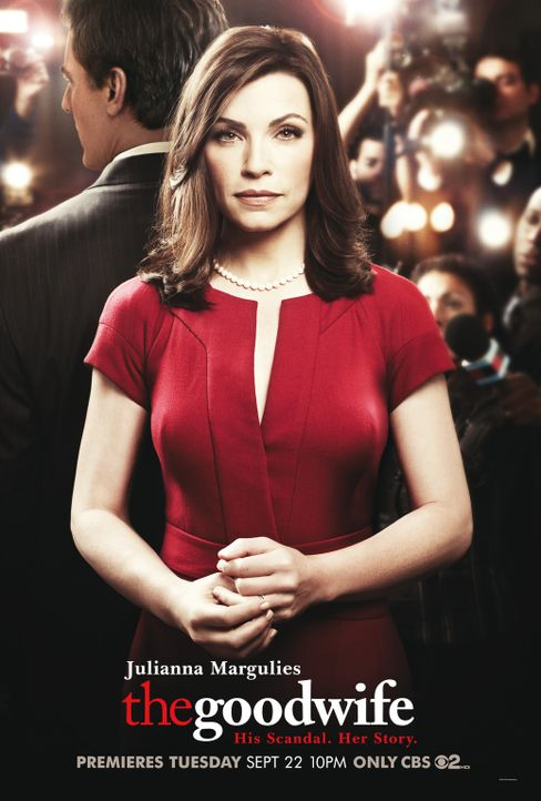 (1. Staffel) - THE GOOD WIFE - Plakatmotiv - Bildquelle: CBS Studios Inc. All Rights Reserved.