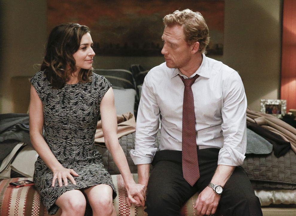 Haben sie eine Chance auf eine gemeinsame Zukunft? Amelia (Caterina Scorsone, l.) und Owen (Kevin McKidd, l.) ... - Bildquelle: ABC Studios