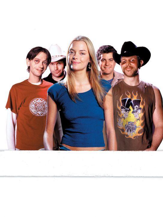 Bennett, Texas: Tiefste Provinz, aber immer unterhaltsam für Cowboys und Idioten: (v.l.n.r.) Junior (DJ Qualls), Jimbo (Matthew Davis), Baby (James... - Bildquelle: TriStar Pictures