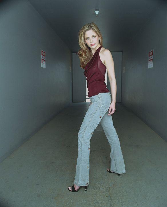 (6. Staffel) – Buffy (Sarah Michelle Gellar) hat eine sehr enge Bindung zu ihrer Mutter und ihrer Schwester Dawn. Als ihre Mutter stirbt, übernimmt... - Bildquelle: TM +   Twentieth Century Fox Film Corporation. All Rights Reserved.