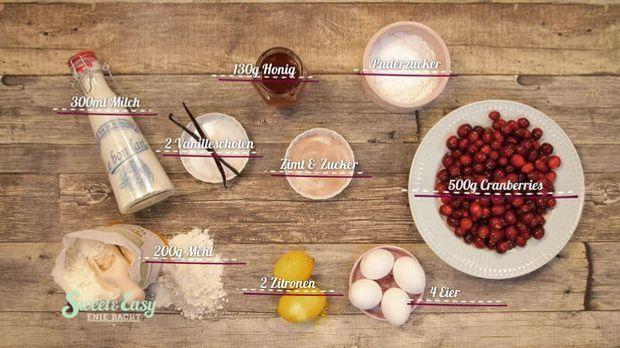 zutaten_Cranberry-Clafoutis mit Minze