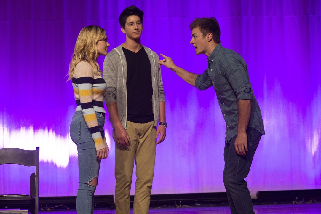 (v.l.n.r.) Taylor (Meg Donnelly); Pierce (Milo Manheim); Trip (Peyton Meyer) - Bildquelle: Michael Ansell 2018 American Broadcasting Companies, Inc. All rights reserved. / Michael Ansell