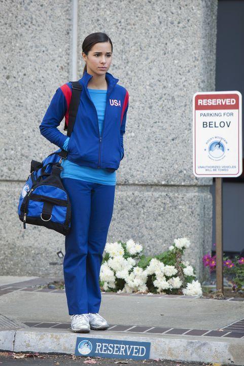Sasha möchte einen Wettkampf unter den Anwärterinnen für Kaylies WM-Platz stattfinden lassen. Kaylie (Josie Loren) fühlt sich jedoch schon wiede... - Bildquelle: 2010 Disney Enterprises, Inc. All rights reserved.