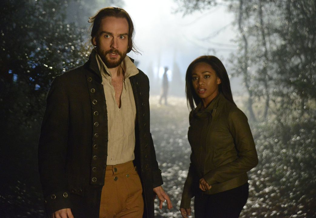Der Kampf gegen das Böse ist noch nicht ausgestanden: Abbie (Nicole Beharie, r.) und Ichabod  (Tom Mison, l.) ... - Bildquelle: 2014 Twentieth Century Fox Film Corporation. All rights reserved.
