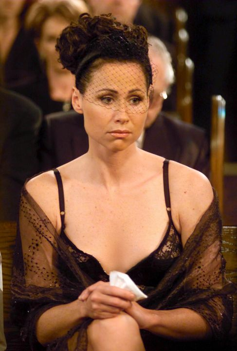Trauert um ihren Geliebten: Lorraine Finster (Minnie Driver) ... - Bildquelle: NBC Productions