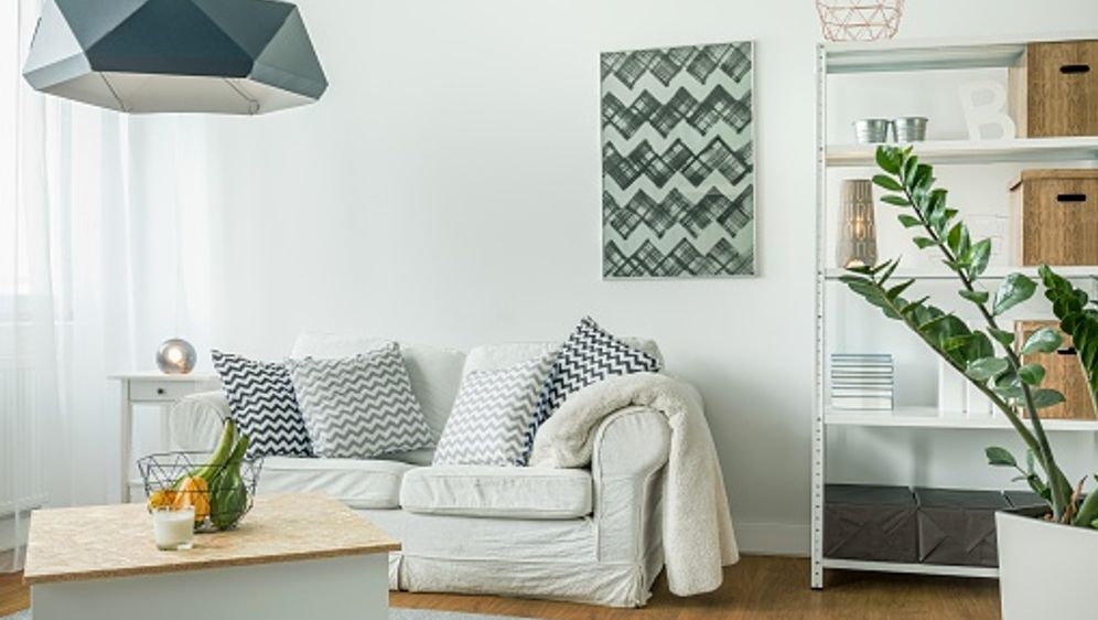 Kleine Wohnzimmer einrichten – DIY – sixx.de