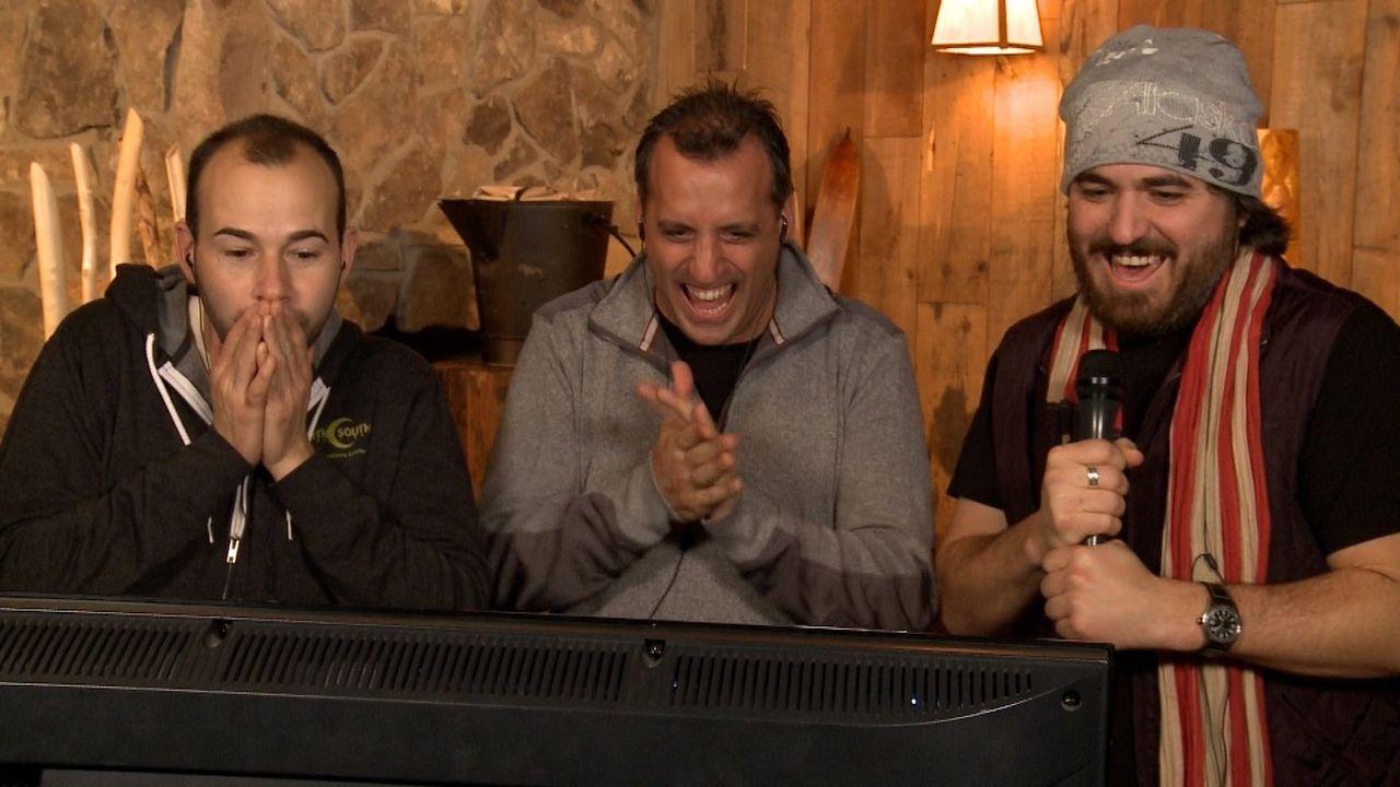 Lassen Sal mit fiesen Ideen leiden: (v.l.n.r.) James, Joe und Brian ... - Bildquelle: 2014 Warner Bros.
