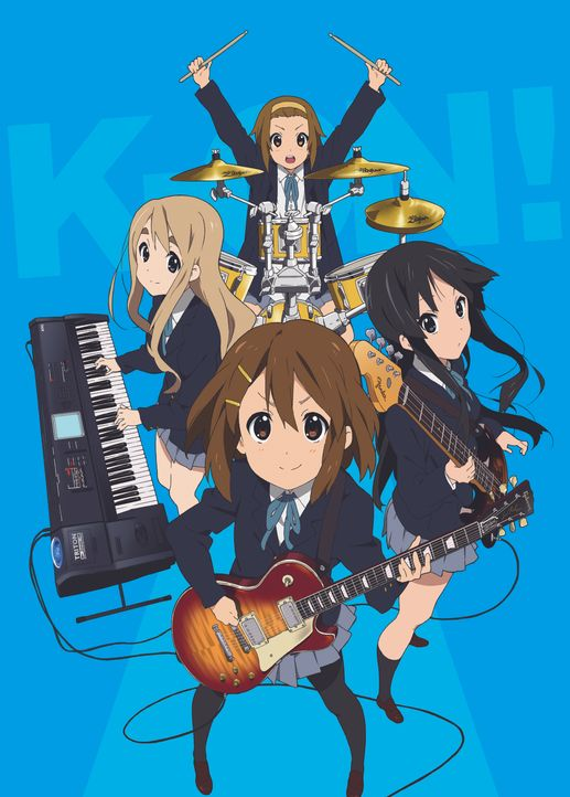 (01. Staffel) K-ON!  - Artwork - Bildquelle: kakifly . Houbunsha/Sakura High Band