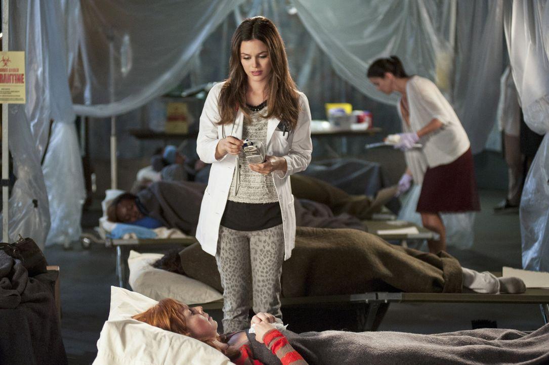 Während Zoe (Rachel Bilson) versucht die Grippeepidemie einzudämmen, muss Wade ausgerechnet bei seiner Ex-Freundin Unterschlupf finden ... - Bildquelle: Warner Bros.