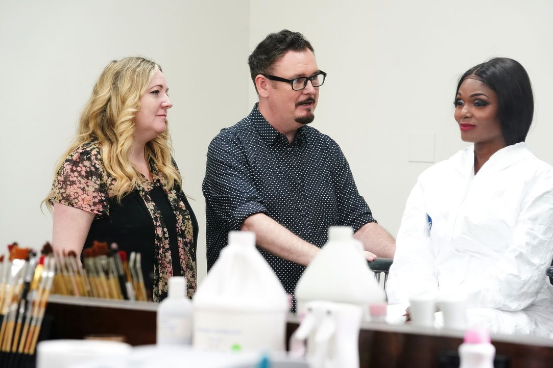 (v.l.n.r.) Lou Elsey; Dave Elsey; Sabrina - Bildquelle: Nicole Weingart 2018 Bravo Media, LLC / Nicole Weingart