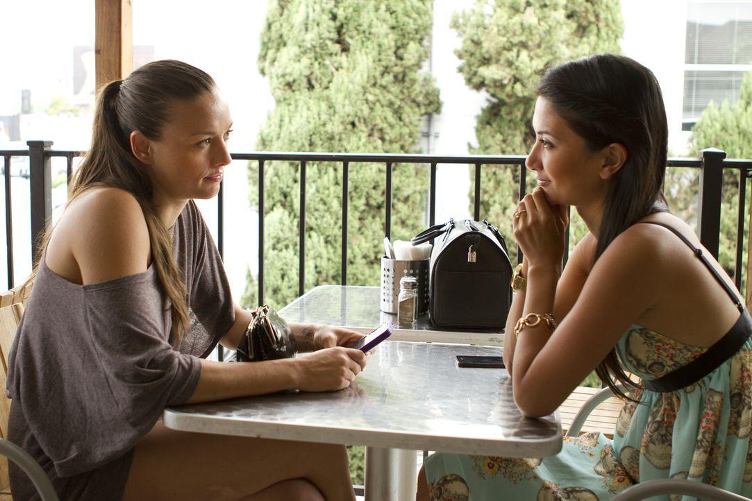 Megan (r.) sucht das Gespräch mit Leigh Ann (l.), um zu verhindern, dass sie schlussendlich alles verliert, was sie liebt ... - Bildquelle: Showtime Networks Inc. All rights reserved.