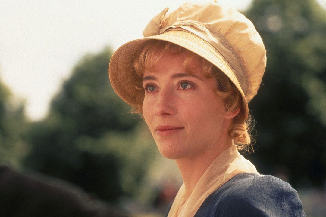 Elinor Dashwood (Emma Thompson) ist schwer verliebt, hat aber nicht den Mut, ihre Gefühle zu offenbaren ... - Bildquelle: Columbia Pictures