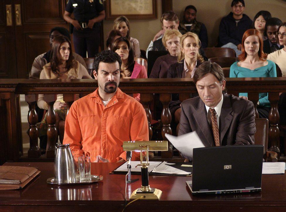 Schuldig?: Carlos Solis (Ricardo Antonio Chavira, l.) ... - Bildquelle: Touchstone Pictures