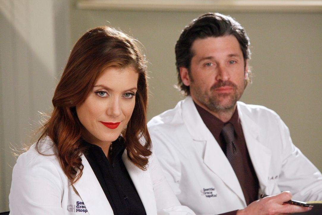Wären Addison (Kate Walsh, l.) und Derek (Patrick Dempsey, r.) immer noch glücklich verheiratet, wenn das Schicksal einen ganz anderen Lauf genommen... - Bildquelle: ABC Studios