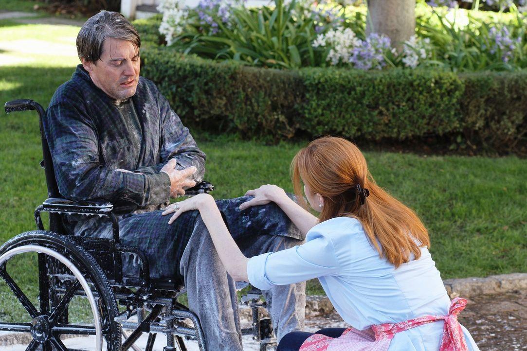 Nach und nach stellt Bree (Marcia Cross, r.) fest, wie sehr sie Orson (Kyle MacLachlan, l.) verletzt hat und bittet ihn deshalb um Verzeihung. Doch... - Bildquelle: ABC Studios